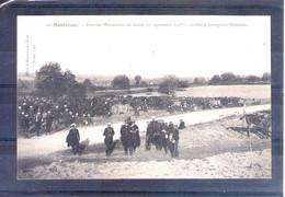 37. Montrésor. Grandes Manoeuvres Du Centre 1908. Artillerie Protégeant Montrésor - Manöver