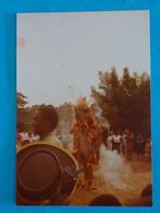PHOTO COULEUR CARNAVAL ECOLE DE MARCORY  ABIDJAN  COTE  D'IVOIRE 1989 - 13 X 9 Cms. - Carnival