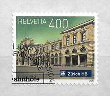 2017 Schweiz Mi. 2524 FD-used . Schweizer Bahnhöfe. Zürich - Used Stamps