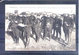 37. Montrésor. Grandes Manoeuvres Du Centre 1908. Groupe D'officiers Dela 13e Brigades Et Arbitres - Manöver