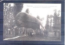 37. Montrésor. Grandes Manoeuvres Du Centre 1908. Aérostat Destiné à La Télégraphie Sans Fil - Manöver