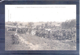 37. Montrésor. Grandes Manoeuvres Du Centre 1908. Défilé Des Fourgons - Manöver