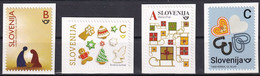 SLOVENIA  2020,CHRISTMAS AND NEW YEAR,FROM BOOKLET,,MNH - Slovenia
