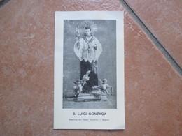 S.LUIGI GONZAGA Basilica Del Gesù Vecchio Napoli - Devotion Images