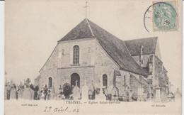 TRAINEL (10) - Eglise Saint-Gervais - Bon état - Altri Comuni