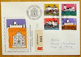 Schweiz Suisse 1983: Pro Patria Zu WII 170-173  Mi 1075-78 Yv 1166-1169 BELLINZONA 2-4.12.83 GIORNATA DEL FRANCOBOLLO - Stamp's Day