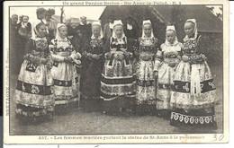 PLONEVEZ PORZAY - SAINTE ANNE La PALUD - Femmes Mariées Grand Pardon - VENTE DIRECTE X - Plonévez-Porzay