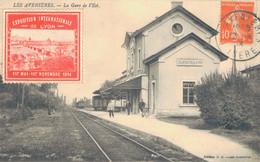 J113 - 38 - LES AVENIÈRES - Isère - La Gare De L'Est - Les Avenières