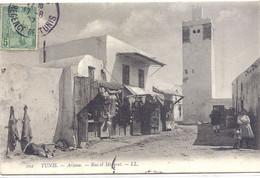 CPA - Tunisie - Tunis - Ariana - Rue Et Minaret - Tunesië