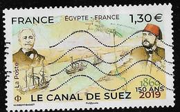 2019  150 Ans  Le Canal De Suez - Used Stamps