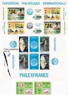 PhilexFrance 82 Afrique Djibouti Gabon Togo Mali Cameroun Sénégal Bénin Blocs Et Timbres Neufs - Africa (Other)