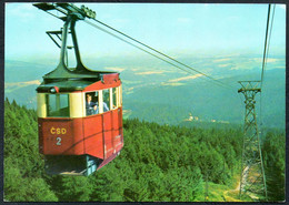 E3555 - Krknose Janske Lazne - Seilbahn Seilschwebebahn - Funicular Railway