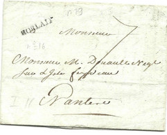MORLAIX FINISTERE 1779 - 1701-1800: Vorläufer XVIII