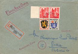 Allemagne Zone Française  1947  Lettre De Rubenach  (G0002) - Franse Zone