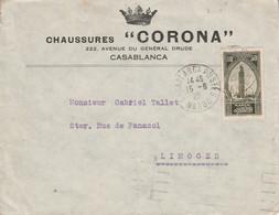 MAROC SEUL SUR LETTRE A EN TETE POUR LA FRANCE 1929 - Nuovi