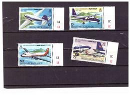 XX3133     -   BRITISH VIRGIN ISLANDS   /   COMPLETE  MINT** MNH   SET   Y&T. Nr.440/443 - Flugzeuge