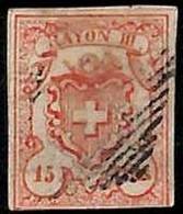 94990e - SWITZERLAND -  STAMP  - Zumstein # 19 -   Fine USED - Gebraucht