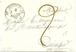 PONT-CROIX FINISTERE 1846 - 1801-1848: Vorläufer XIX