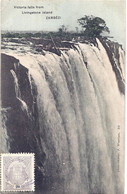 CPA - Zimbabwe - Zambézi - Victoria Falls From Livingstone Islande - Zimbabwe