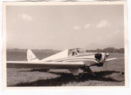 AEREO  NON IDENTIFICATO - PLANE  - AERITALIA TORINO  - FOTO CARTOLINA ORIGINALE ANNO 1960 - Aviazione