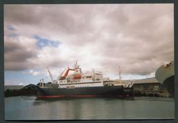 20043 T.A.A.F Photo Du Marion Dufresne : Le Port à La Réunion Du 12.6.1996  TB - Cartas