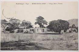 CPA Haut-Sénégal-Niger_BOBO-DIOULASSO_Village Bobo (Tiéran) - Dahomey