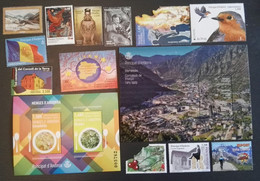 2019 ESPAÑA  - ESPAGNE - SPANISH  - ANDORRA ESPAÑOLA  ANDORRE  ESPAGNOL  AÑO  COMPLETO ANNEE COMPLETE - - Unused Stamps