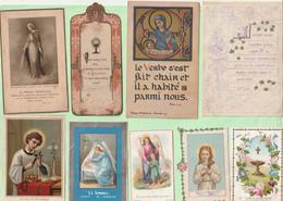 Images Pieuses Lot 100 Pieces Lot No 1 - Devotion Images