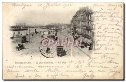 Boulogne Sur Mer - Le Quaui Gambetta CPA - Boulogne Sur Mer