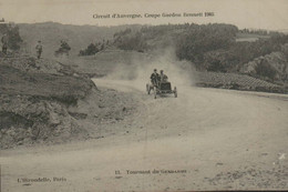 Circuit D'Auvergne - Coupe Gordon Bennett 1905 - 13 - Tournant Du Gendarme - Otros