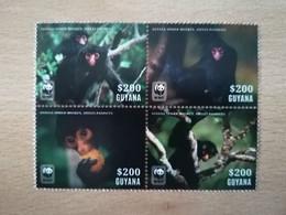 079 WWF Klammeraffe Atèle 200$ - Guyane (1966-...)