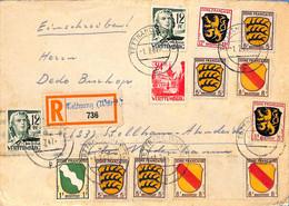 Allemagne Zone Française  1947  Lettre De Tettnang   (G0034) - Zona Francesa