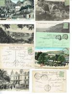 22 Monaco Albeert 1er 5 C. Vert Lot De 9 CP - Storia Postale
