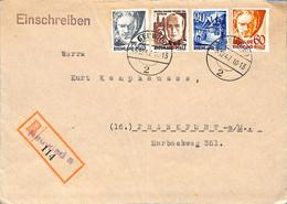 Allemagne Zone Française  1947  Lettre De Neuwied  (G0051) - Franse Zone