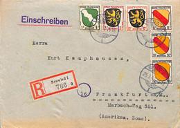 Allemagne Zone Française  1947  Lettre De Neuwied  (G0055) - Franse Zone