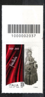 Italia 2020 - Fedora Barbieri Codice A Barre MNH ** - Code-barres