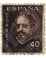 Ref. 85573 * MNH * - SPAIN. 1945. 3rd CENTENARY OF THE DEATH OF QUEVEDO . 3 CENTENARIO DE LA MUERTE DE QUEVEDO - Unclassified