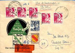 Allemagne Zone Française  1948  Lettre De Koblenz   (G0069) - Zona Francesa