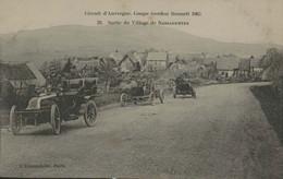 Circuit D'Auvergne - Coupe Gordon Bennett 1905 - 22 - Sortie Du Village De NASSAGETTES - Otros