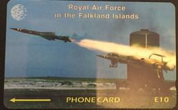 Paco \ ISOLE FALKLAND \ 59cfka \ RAF Regiment Rapier \ Usata - Islas Malvinas