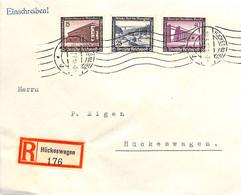 Allemagne Reich 1937  Lettre De Huckesnagen  (G0083) - Cartas