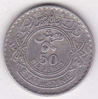 Syrie - Protectorat Française 50 Piastres 1929 En Argent, KM# 74 , Lec# 41 - Syria