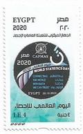 Egypt - World Statistics Day -Unused MNH - [2020] (Egypte) (Egitto) (Ägypten) (Egipto) (Egypten) - Ungebraucht