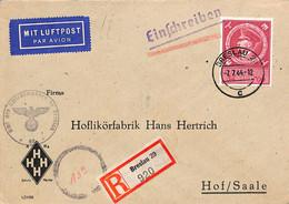 Allemagne Reich 1944  Lettre De Breslau  (G0085) - Cartas