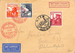 Allemagne Reich 1939  Lettre De Hamburg  (G0086) - Cartas