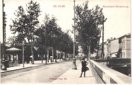 FR81 ALBI - 65 - Boulevard De Strasbourg - Animée - Belle - Albi