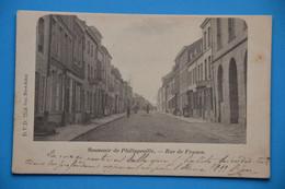 Philippeville 1906: Rue De France Très Animée - Philippeville