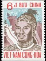 Vietnam South 1972 Mi# 491C MNH Emperor Quang Trung Commemoration - Vietnam