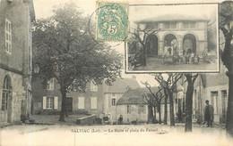 SALVIAC La Halle Et La Place Du Foirail - Salviac