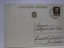 SIENA  E PROV. -- ANNULLO -TONDO -RIQUADRATO -FRAZIONALE -   TORRENIERI  --19-5-33 - Storia Postale